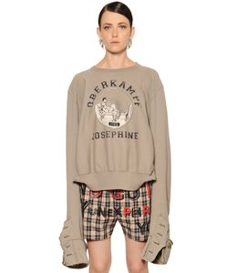 Maison Margiela | Cotton Sweatshirt W Extra Long Sleeves