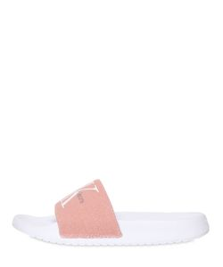 Calvin Klein Jeans | 20mm Chantal Canvas Slide Sandals
