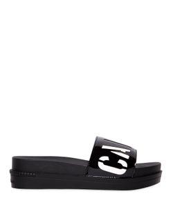 Calvin Klein Jeans | 45mm Eglantine Faux Patent Sandals