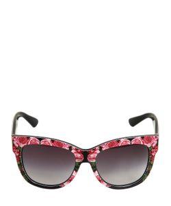 Dolce & Gabbana | Солнцезащитные Очки С Принтом Розы