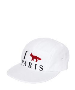 Maison Kitsune | Хлопковая Бейсбольная Кепка I Fox Paris