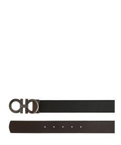 Salvatore Ferragamo | Двухсторонний Кожаный Ремень 35mm