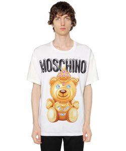 Moschino | Футболка Из Хлопкового Джерси