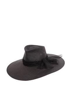 Maison Michel | Шляпа Pina Из Плетёной Соломы С Кружевом