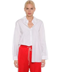 MM6 by Maison Margiela | Двухсторонняя Рубашка Из Поплин