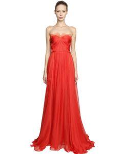 Maria Lucia Hohan   Платье Из Кружева И Шёлкового Муслина