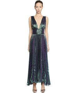 Maria Lucia Hohan | Платье Из Шёлкового Шифона И Люрекса
