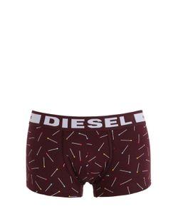 Diesel | Трусы-Боксеры Из Хлопкового Джерси С Принтом