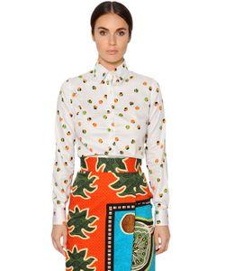 Stella Jean | Рубашка Из Поплин С Принтом