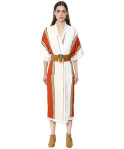 Nehera | Пальто Из Полухлопкового Твида С Бахромой