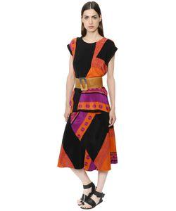 Nehera | Платье Из Шёлкового Крепа С Принтом