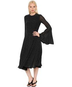 ROSETTA GETTY | Платье Из Доржета С Fil Coupé
