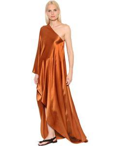 ROSETTA GETTY | Атласное Платье На Одно Плечо