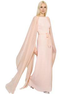 INGIE | Платье Evers Из Атласа И Жоржета
