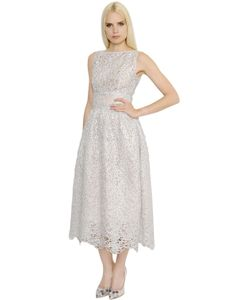 INGIE   Платье Из Органди И Кружева