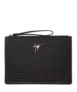 Giuseppe Zanotti Design | Кожаный Клатч С Крокодиловым Тиснением