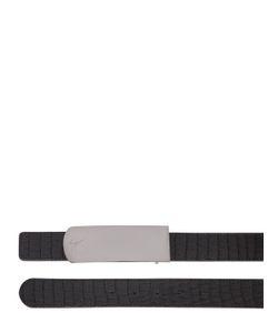 Giuseppe Zanotti Design | Ремень Из Кожи С Крокодиловым Тиснением 30mm