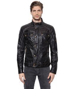 Belstaff | Куртка В Мотостиле Champion Из Вощёного Хлопка