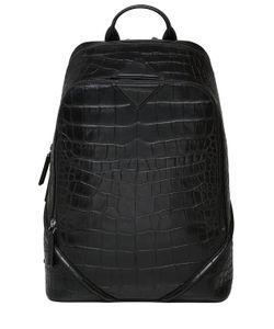 MCM | Рюкзак Luxus Из Тиснёной Кожи