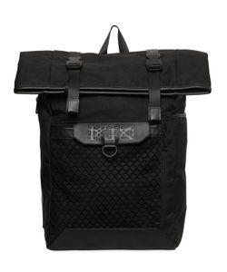 Ktz | Рюкзак Из Сетчатого Материала И Кожи