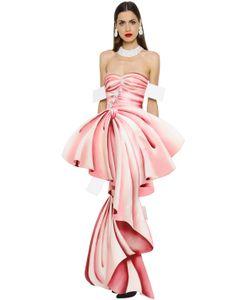 Moschino | Платье С Принтом Trompe Loeil
