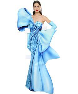 Moschino | Платье С Принтом В Технике Trompe Loeil