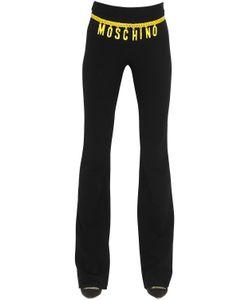 Moschino | Брюки Из Крепа С Принтом