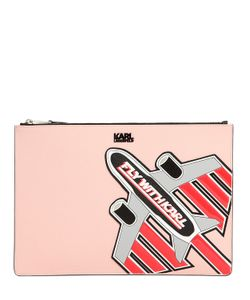 Karl Lagerfeld | Клатч Fly With Karl Из Искусственной Кожи