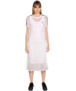 adidas Originals   Платье Из Техношифона