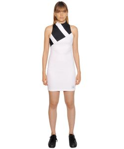 adidas Originals   Платье Из Сетчатого Стретч Материала