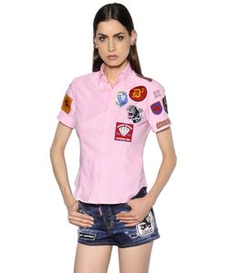Dsquared2 | Рубашка С Нашивками Military Glam