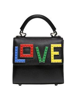 Les petits joueurs | Кожаная Сумка Alex Rainbow Love