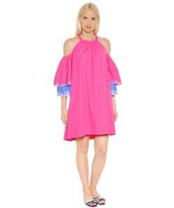 Peter Pilotto | Платье Из Поплин С Вышивкой