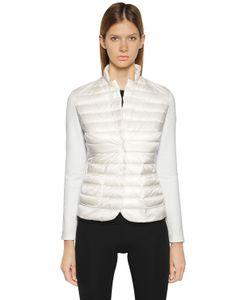 Moncler | Куртка Из Нейлона И Технотрикотажа
