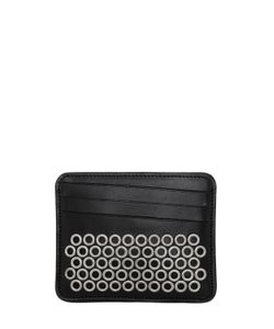 Maison Margiela | Eyelets Leather Card Holder