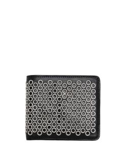 Maison Margiela | Eyelets Leather Classic Wallet