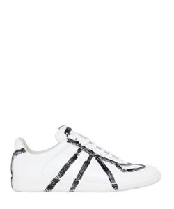 Maison Margiela | Replica Hand-Painted Leather Sneakers