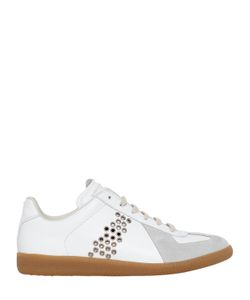 Maison Margiela | Replica Eyelets Leather Suede Sneakers