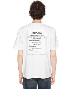Maison Margiela | Replica Heavy Cotton Jersey T-Shirt