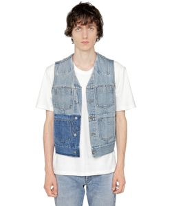 Maison Margiela | Washed Cotton Denim Vest