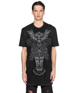 MAUNA KEA | Totem Embroidered Cotton Jersey T-Shirt