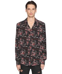 MAUNA KEA | Hawaii Printed Viscose Shirt