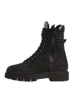 Oxs | Leather Combat Boots