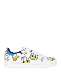 MOA MASTER OF ARTS | Donald Duck Printed Leather Sneaker