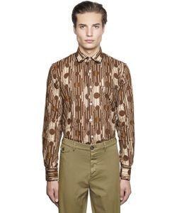 GABRIELE PASINI | Geometric Printed Jacquard Pajama Shirt