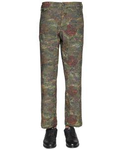 GABRIELE PASINI | 22cm Techno Blend Tapestry Gobelin Pants