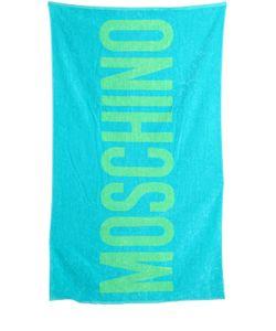 MOSCHINO BEACHWEAR | Пляжное Полотенце Moschino Из Махровой Ткани
