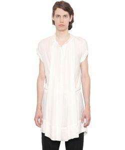 Ann Demeulemeester | Рубашка-Туника Из Вискозного Крепа