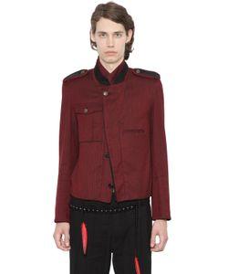 Ann Demeulemeester | Хлопковая Куртка В Стиле Милитари