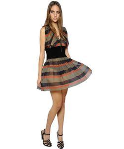 Sonia Rykiel | Платье Из Шелка Жоржет